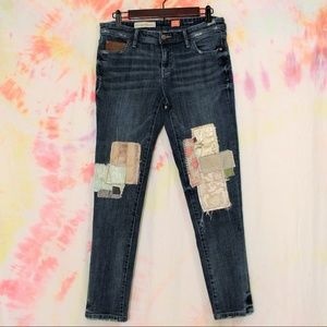 Anthropologie Pilcro and the Letter Press Jeans.